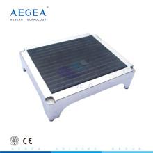 АГ-FS002 одобренный CE 304 анти-скольжения из нержавеющей стали верхняя крышка больнице табурет