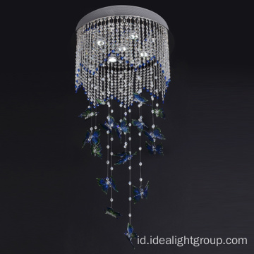 kekaisaran led chandelier pendant chain chandelier steel