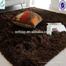 couloir de couloir Chine usine de tapis super shaggy polyester hôtel tapis
