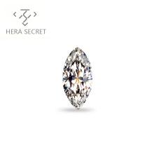 ForeverFlame  G H Marquise Cut EYE 3ct diamond CVD CZ Moissanite jewelry women