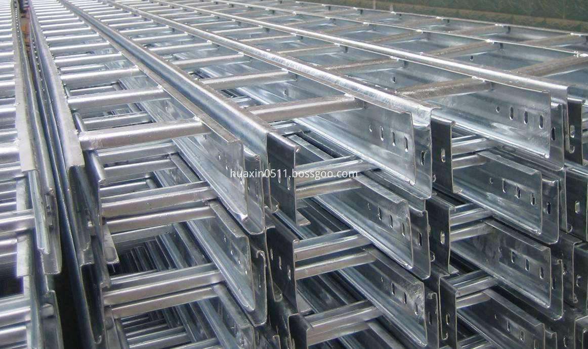 galvanized ladder support