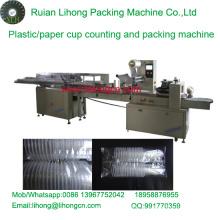 Lh-450 Double-Row Einweg-Kunststoff-Cup Zähl-und Verpackungsmaschine