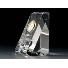 Crystal Desk Gift Clock
