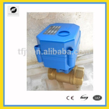 2-way motorized valve with 3-6V,12V,24V,1 1/4'' (32mm) for water,HVAC,air conditional