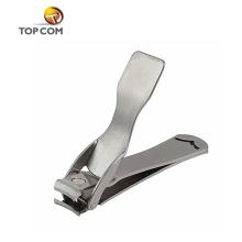 Serviço do OEM cortador de unhas impressão logotipo personalizado fina unha cortadores de aço inoxidável