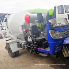 Small 6 cbm concrete tank truck
