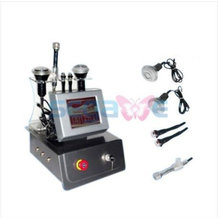 4-1 Ultrasonic Liposuction Cavitation + Tripolar Bipolar RF + BIO MICROCURRENT RED LED Sliming Machine Touch Screen