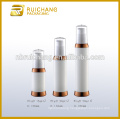 15ml/30ml/50ml pp cosmetic airless bottle,uv coating round airless bottle,cosmetic packaging bottle