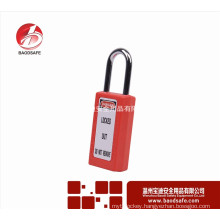 Yueqing OEM Products 41mm Lock Body Long Shackle Safety Aluminium Padlock l handle lock