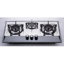 Cocina de gas de tres quemadores (SZ-LW-118)