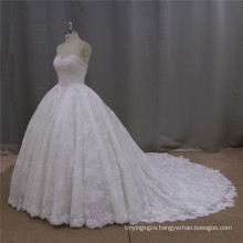 Lace Bridal Ball Gown Vestidos Luxury Sweetheart Weddinggowns