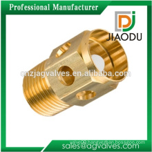 hot sale forged npt hydraulic pneumatic threaded brass turning parts