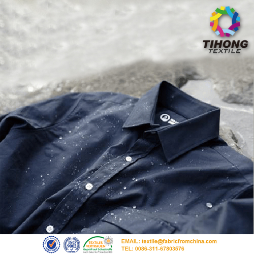 cotton waterproof shirt fabric