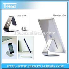 2016 nuevo diseño de teléfono móvil soporte de mesa de aluminio