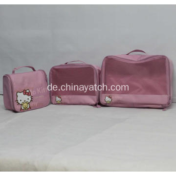 Netter Hallo Kitty Waterproof Organizer Bag Set