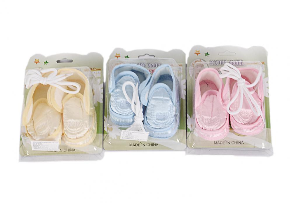Baby Toddler Soft Bottom Shoes with Velcro
