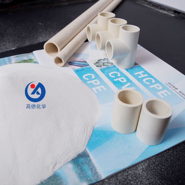 CPVC RESIN FOR HOT WATER PIPES AND FITTINGS