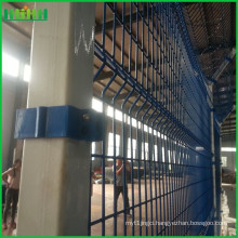 3m Height Welded Wire Airport Fence with Concertina Razor Barbed Wire