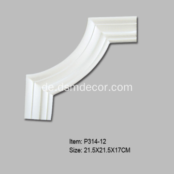 Architektonische dekorative Panel Moulding Ecken
