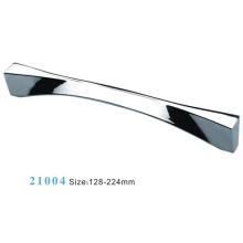 Poignée d'armoire de meuble en alliage de zinc (21004)