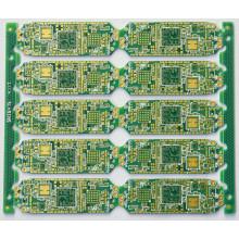 CNC + placas de circuito impreso con contorno de corte en V