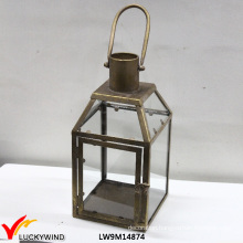 French Country Style Decorative Metal Lantern Candle Holders