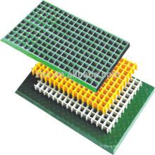 Réseau de fibre de verre caillebotis composite FRP moulé