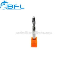 Brocas de precisión de carburo BFL / Brocas de diámetro micro de carburo de tungsteno