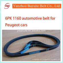 6PK 1160 correa de ventilador para el coche CITROEN y PEUGEOT
