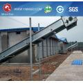 Jaula de la batería de la malla de alambre galvanizada DIP no oxidada