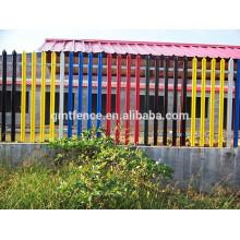 Наружная декоративная конструкция из алюминиевого забора / конструкция из кованого железа
