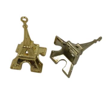 Kleider Hardware Custom 3D Metall Eiffelturm Fallumbau