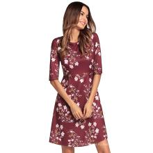 Мода взрослых возрастной группы и типа платье пляж прикрыть цветочный пляжный повседневный платья