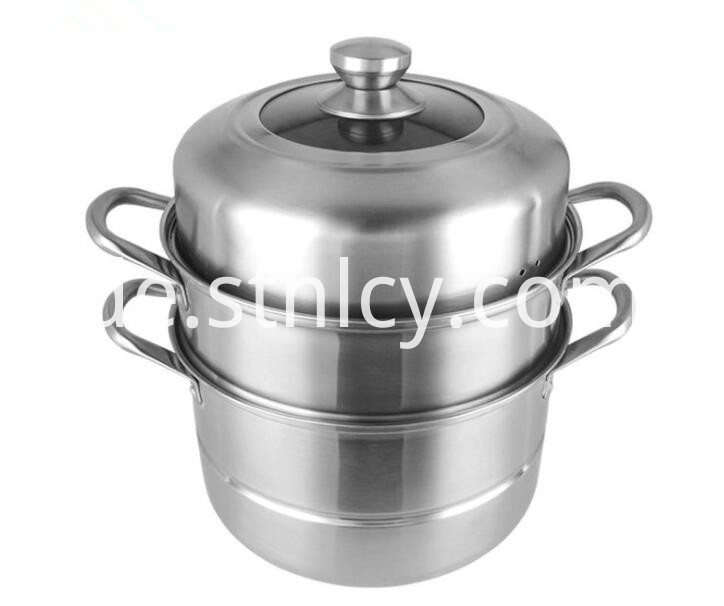 Large Stainless Steel Steamer Pot
