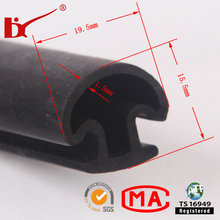 Aluminium Door and Window Water Stop Rubber Profile