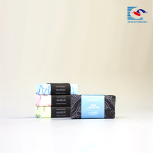 bright color printed box for scented soap and gift packing