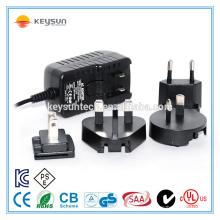 Сменный адаптер переменного тока 24v 500mA розетка