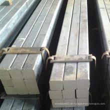 S20c AISI1020 Ss400 Q235 Vierkant Stahl Stäbchen Stahl Stange