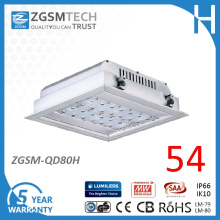 Recessed Mounting 80W LED Gas Station Canopy Light