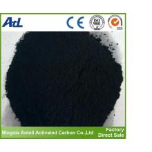 Poudre de charbon actif de purification de l'eau