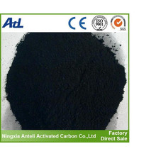Water purification activated charcoal powder