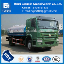 Perfect Condition 4*2 Sinotruk Howo Water transport tank truck watering Cart 10m3 capacity