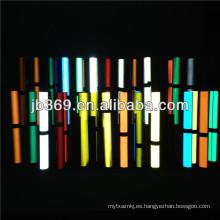 etiqueta engomada reflexiva amarilla de la lámina / cinta reflexiva de la película dada la bienvenida por el cliente