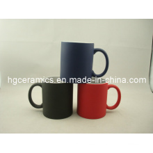 Tasse de changement de couleur de 11 oz, tasse magique de couleur