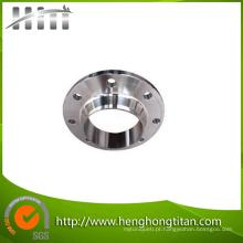 Flange de alumínio feito precisão da tubulação, adaptador de alumínio da flange