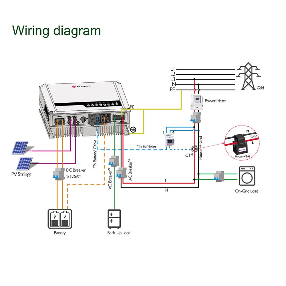 10KW 20KWH Lithium Battery Solar Energy Storage System