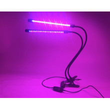 Flexible Clamp 2 Heads Grow Plant Growing LED