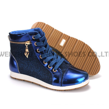 Women′s Shoes Leisure PU Shoes with Rope Outsole Snc-55013
