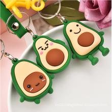 Fruit Avocado Keychains Bulk Wholesale