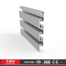 Пластиковая панель Slatwall / Пластиковая рейка Slatwall Accessorie / Система настенного крепления